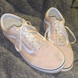 Old Skool Vans - Blush Pink